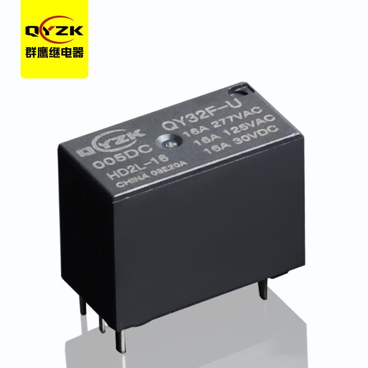QY32F-U-012DC-HD2L 16A继电器